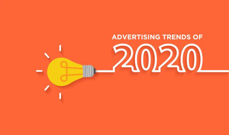 Trendy advertising designs of 2020